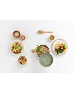Cocedor microondas abs+silicona quick quinoa & rice cooker lekue