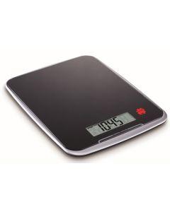 Balanza cocina electronica 10kg negro gran capacidad ilsa