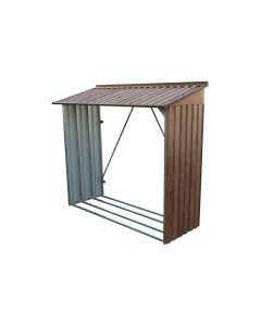 Leñero ordenacion 74x182x160cm imitacion madera leñero ii duramax