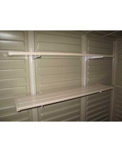 Estanteria caseta 91x31x2cm accesorio duramax pvc estanteria pvc 1000