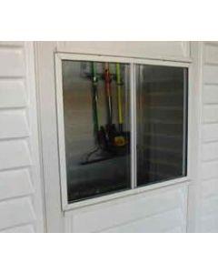 Ventana caseta 4x73x61cm accesorio duramax pvc ventana garaje pvc 8211
