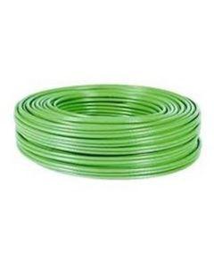 Cable electricidad manguera libre halogenos 3x1,5mm verde general cable
