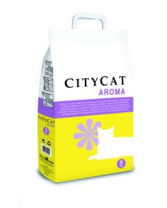 Arena gato absorbente perfumado city cat 5 kg pcitycar005k01