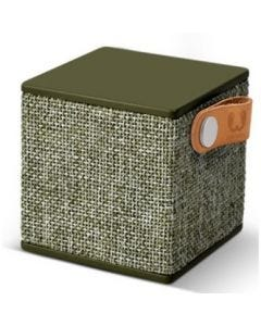Altavoz bluetooth cubo fresh'n rebel verde rockbox cube fabric edition army fnra
