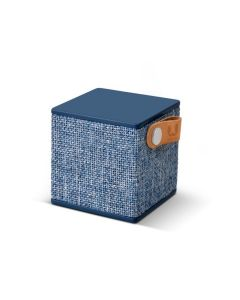 Altavoz bluetooth cubo fresh'n rebel azul rockbox cube fabric edition indigo fnr