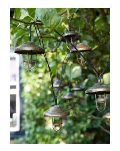 Lampara jardin guirnalda 3,8m lanzarote luxform 125854