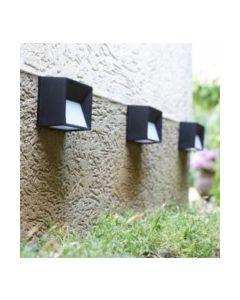 Aplique iluminacion solar plastico guia skye luxform