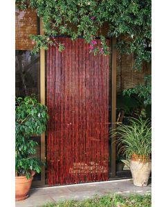 Cortina puerta habanera 90x200cm madera burdeos hong kong catral 71060007            125904