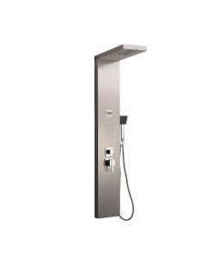 Columna baño ducha hidromasaje 140x22cm acero inox s-9127 dp griferia