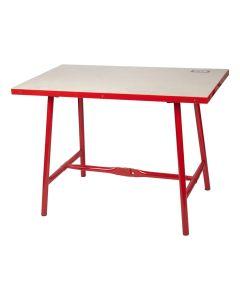 Mesa taller rojo nivel nv126538