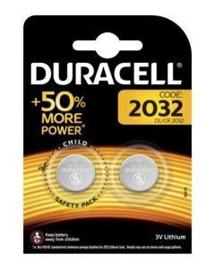 Pila boton 2032 duracell 2 pz 5000394203921
