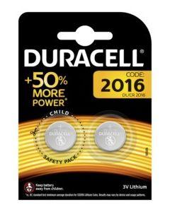 Pila boton 2016 duracell 2 pz 5000394203884