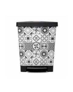 Cubo bas. recicl. c/pedal 23l/390x300x335 pl hidraulic tatay
