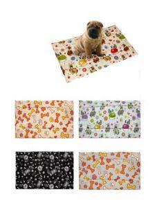 Alfombra mascota estampada 40x70x1cm textil surtidos teplas 8426334016593         127411