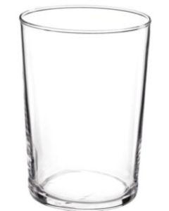 Vaso mesa caña 18cl lisa forma baja vidrio bormioli 6 pz mppg220617