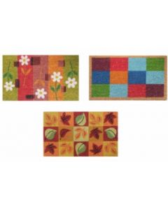 Felpudo decoracion rectangular 40cmx70cm dintex 1 pz 55183
