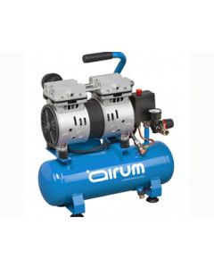 Compresor silencioso 1hp 8 bar 6lt airum