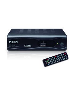 Receptor television euroconector tdt t2 hd hdmi usb axil rt 0430 t2