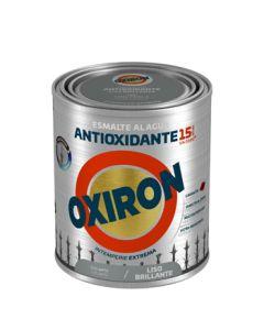 Esmalte antioxi. bri. ext. liso 750 ml gr/per oxiron al agua titan