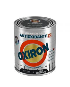 Esmalte antioxi. bri. ext. liso 750 ml gr/met oxiron al agua titan