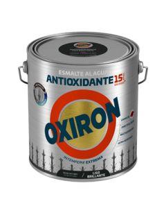 Esmalte antioxi. bri. ext. liso 2,5 lt ver/car oxiron al agua titan