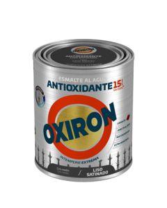 Esmalte antioxi. sat. ext. liso 750 ml gr/med oxiron al agua titan