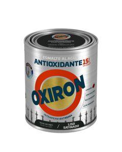 Esmalte antioxi. sat. ext. liso 750 ml ver/car oxiron al agua titan