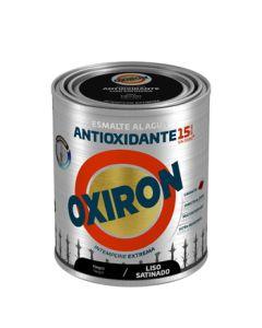 Esmalte antioxi. sat. ext. liso 750 ml ne oxiron al agua titan
