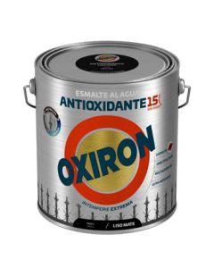 Esmalte antioxi. mate ext. liso 2,5 lt ne oxiron al agua titan