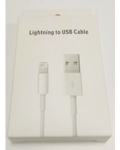 Cable multimedia usb a iphone 2a/1mt blanco dexler