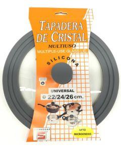 Tapa coc microondas 2/24/26cm crist thogar