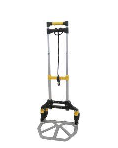 Carretilla almacen pala 385x280mm plegable rueda 13cm 50kg carga aluminio nivel nv128731         128731