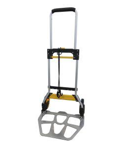Carretilla almacen pala 350x485mm plegable rueda goma 17cm 90kg carga aluminio nivel nv128732         128732