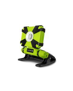 Proyector iluminacion negro/verde plastico luceco led plano recargable 1 ud lcwr9g60-01