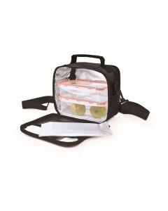 Bolsa porta alimentos 2 contenedores negro iris 9120-tx