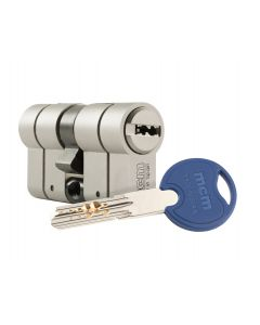 Cilindro seguridad doble embrague 35x35mm niquel scxplus mcm scx+den:35-35