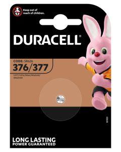 Pila boton 377 sr66 duracell 1 pz