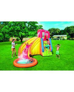 Juego hinchable infantil tobogan 366x337x241cm poliester water park bestway  53347