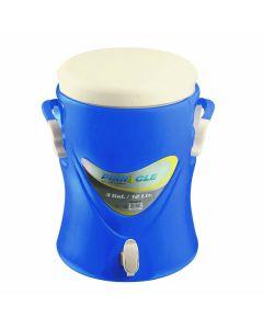 Termo liquidos con asa con grifo 12lt azul pinnacle