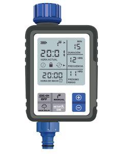 Programador riego aquacontrol azul digital c4110