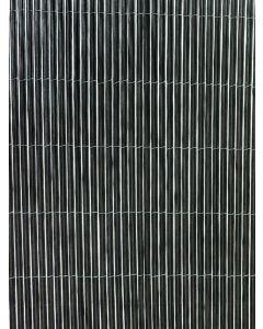 Cañizo ocultacion solar con accesorios 1x3mt pvc marron fency twin nortene