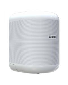 Dispensador baño 310x200x220mm industrial losdi abs blanco eco luxe papel mecha cp-3010-b 1 ud