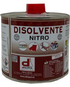 Disolvente nitrocelulosico envase metalico 500 ml disopol         129708