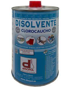 Disolvente clorocaucho envase metalico 1 lt disopol         129710