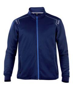 Chaqueta trabajo xl poliester/algodón azul navy sweatshirt sparco