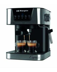 Cafetera electrica expres 20 bar automatica 1,5lt inox orbegozo 1 ud ex 6000