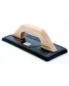 Llana alicatador 110x80mm goma bellota mango cerrado madera base poliuretano 589 130173