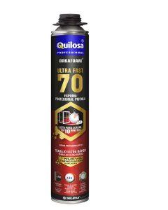 Espuma poliuretano pistola puerta/ventana alto rendimiento amarillo ultrafast 70 130185