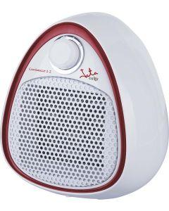 Calefactor electrico 1200w 2 potencias ceramico 21x13,5x22,5 gris jata