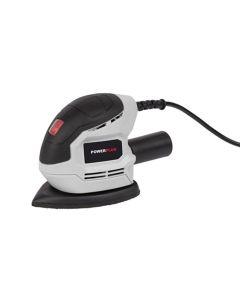 Lijadora orbital 105w mouse 140x140x80mm 2m powerplus